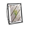 Bilderrahmen Arca ca. 17,8x22,9x7cm - Schwarz, Glas/Metall (17,8/22,9/7cm) - Mömax modern living