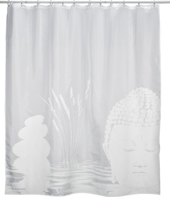 Zuhanygfüggöny Fehér/bézs - fehér, Lifestyle, textil (180/200cm) - MÖMAX modern living