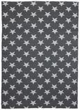 Outdoorteppich Stars 120x170cm - Weiß/Grau, MODERN, Textil (120/170cm) - Mömax modern living