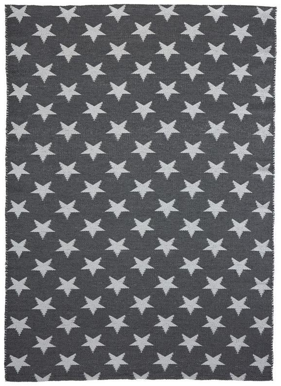 Teppich Outdoor Stars ca.120x170cm - Weiß/Grau, MODERN, Textil (120/170cm) - Mömax modern living