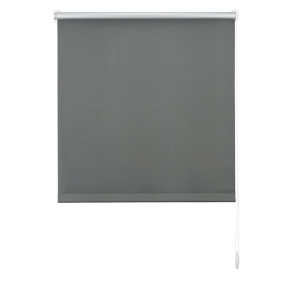 Klemmrollo Thermo, ca. 75x150cm - Schieferfarben, Textil (75/150cm) - Premium Living