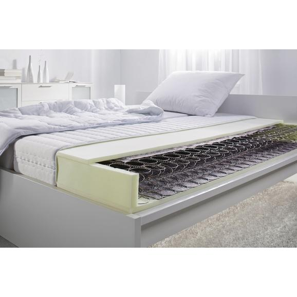 Vzmetnica 140x200 Cm Living Flex Top - bela, Konvencionalno, tekstil (140/200cm) - Nadana