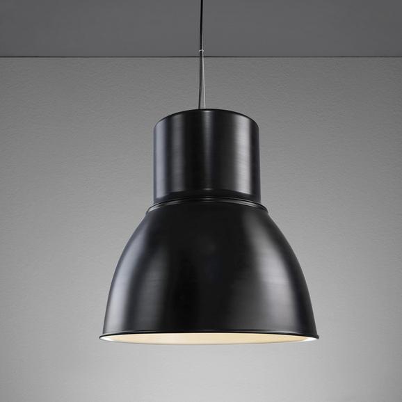 Hängeleuchte Victor - Schwarz/Weiß, MODERN, Metall (47/47/120cm) - MÖMAX modern living