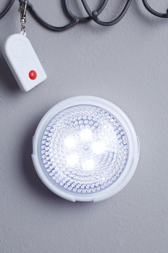 LED-Dekoleuchte Heli, max. 0,06 Watt - Weiß, Kunststoff/Metall (12,5cm)