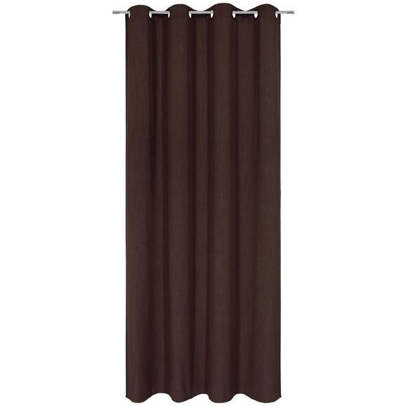 Készfüggöny Ulli - Barna, Textil (140/245cm) - Mömax modern living