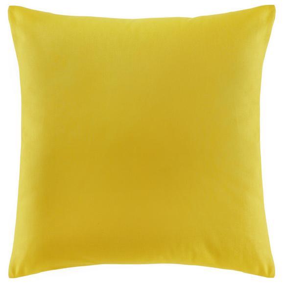 Zierkissen Zippmex in Yellow ca.50x50cm - Gelb, Textil (50/50cm) - Based