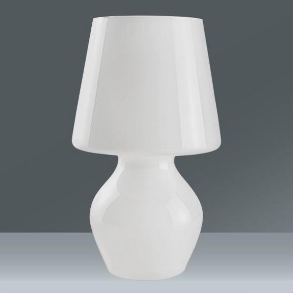 Tischleuchte Iona, max. 60 Watt - Opal, Glas (26/35cm) - Mömax modern living