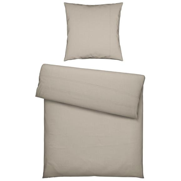Bettwäsche Stefanie in Grau ca. 135x200cm - Grau, KONVENTIONELL, Textil (135/200cm) - Premium Living