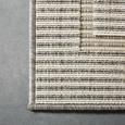 Flachwebeteppich Kanada Grau, ca. 120x170cm - Grau, MODERN, Textil (120/170cm) - Boxxx