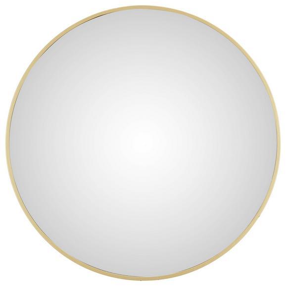 Wandspiegel in Goldfarben - Goldfarben, MODERN, Holzwerkstoff/Kunststoff (45/45/4cm) - Modern Living