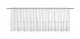 Kurzgardine Pia Weiß, ca. 150/47cm - Weiß, ROMANTIK / LANDHAUS, Textil (150/47/cm) - Mömax modern living