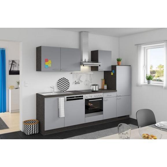 Kuhinjski Blok Win - siva/antracit, Moderno, leseni material (280cm) - Express