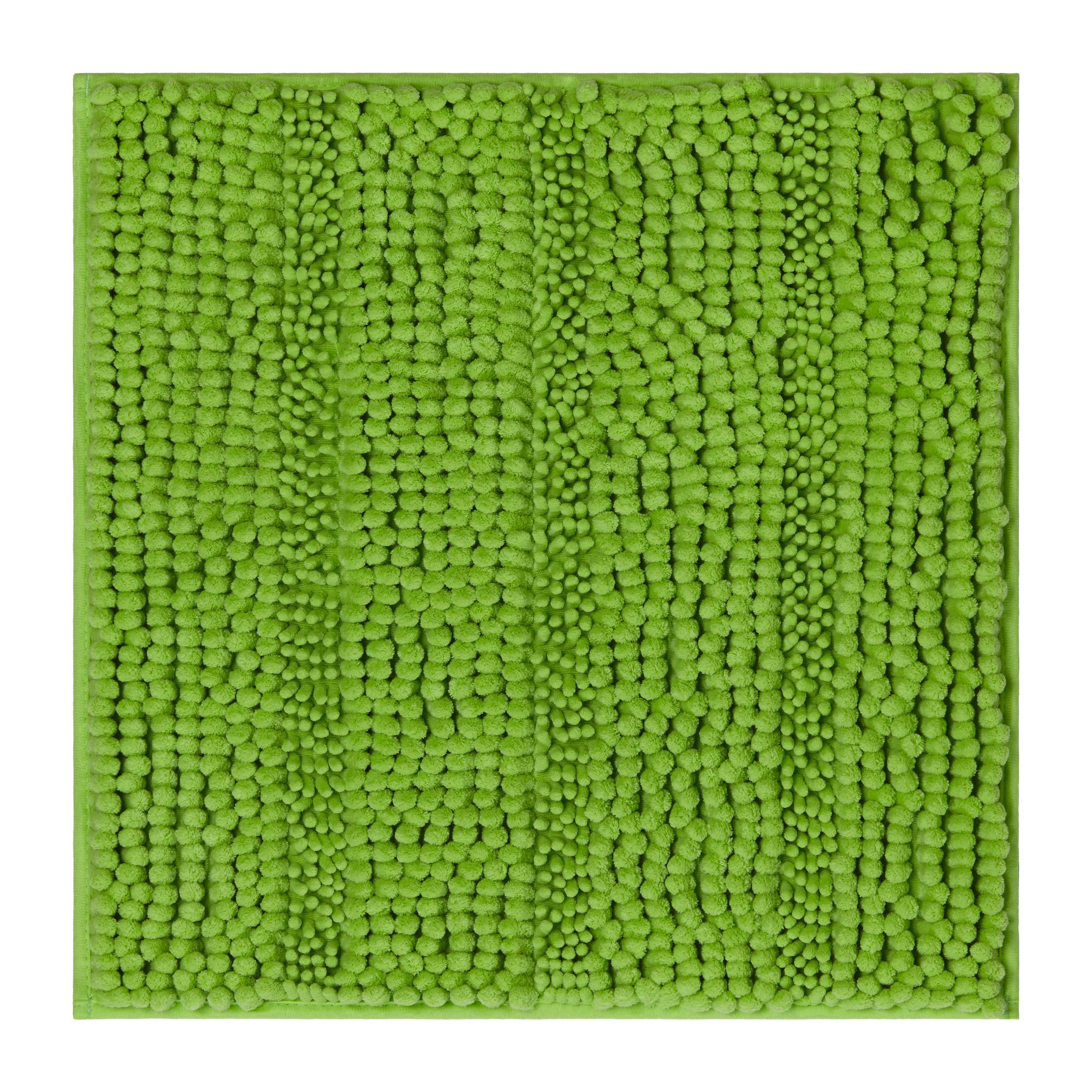 Badematte Uwe ca. 50x50cm - Grün, Textil (50/50cm) - MÖMAX modern living