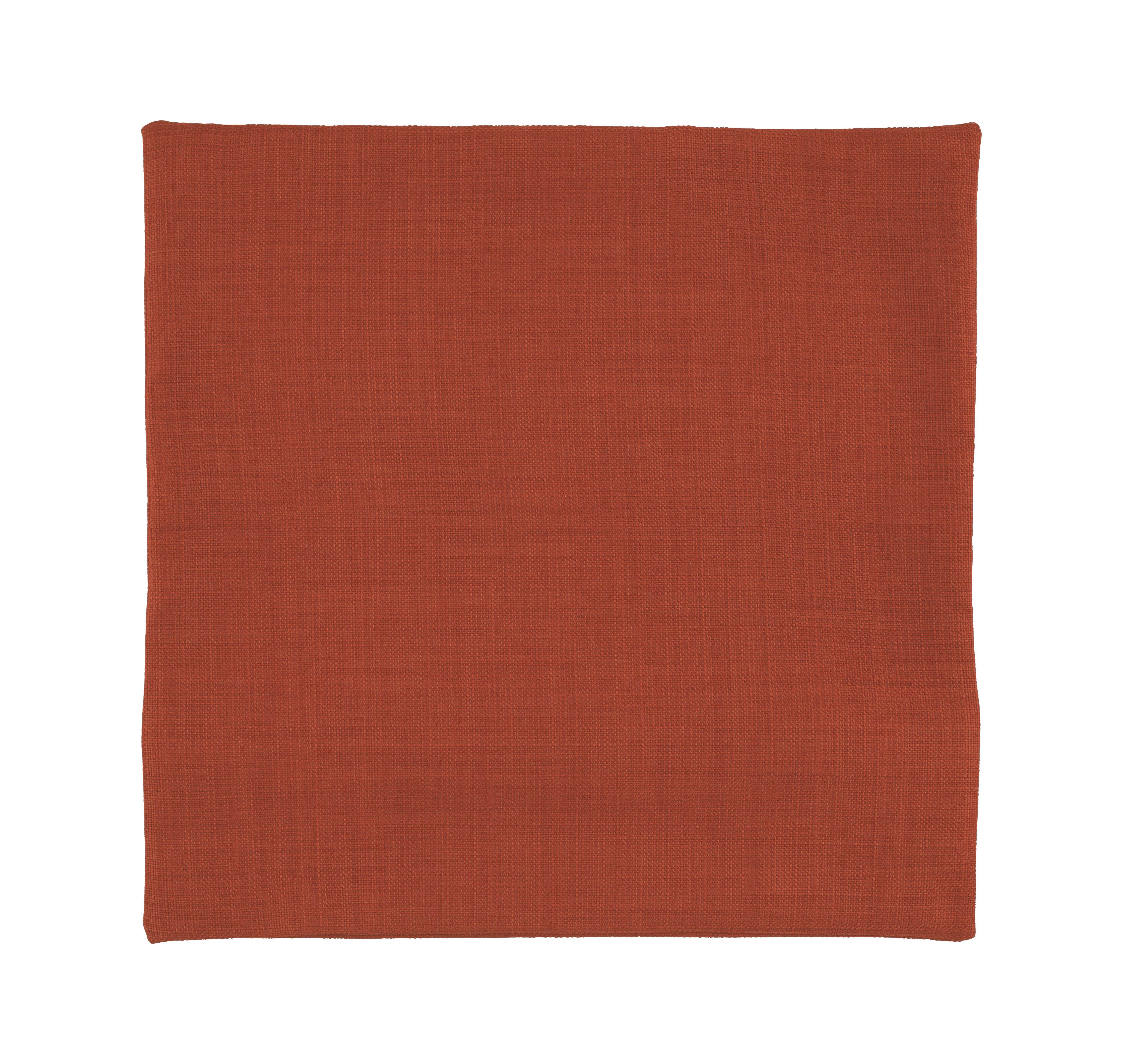Kissenhülle Leinenoptik, ca. 40x40cm - Orange, KONVENTIONELL, Textil (40/40cm) - MÖMAX modern living