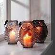 Windlicht Elea - Hellgrau, MODERN, Glas (18,8/23,8cm) - Mömax modern living