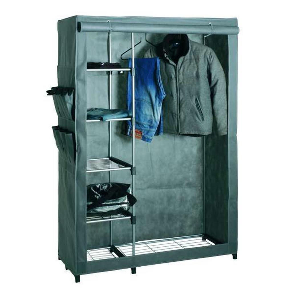 Garderobe In Alu/grün