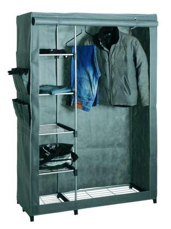 Garderobe In Alu/grün - Grau, Kunststoff/Metall (116/173/50cm) - MÖMAX modern living