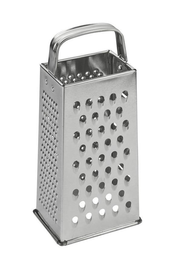 Négyszögletű Reszelő Lotta - Nemesacél, Fém (23cm) - Mömax modern living