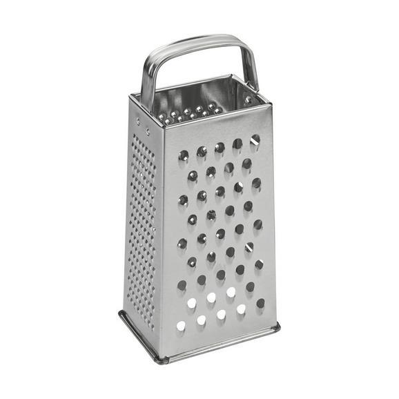 Vierkantreibe Lotta - Edelstahlfarben, Metall (23cm) - Mömax modern living
