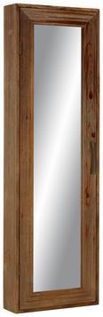 Wandspiegel in Naturfarben - Naturfarben, LIFESTYLE, Glas/Holz (50/160/19cm) - PREMIUM LIVING