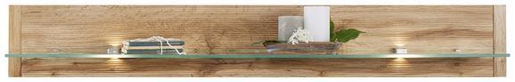 Polica Alamo - hrast, Moderno, leseni material (140/20/21cm) - Modern Living