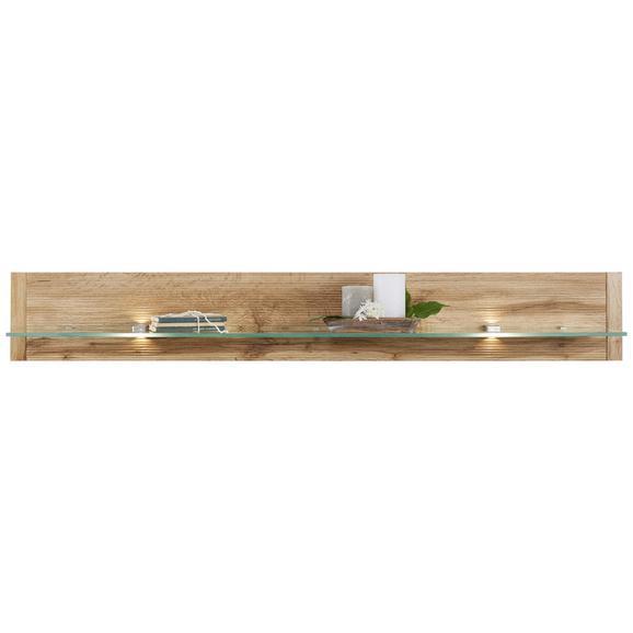 Wandboard Eichefarben - Eichefarben, MODERN, Holzwerkstoff (140/20/21cm) - Modern Living