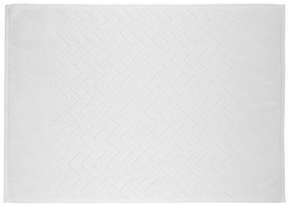 Badematte Peter Weiß - Weiß, Textil (50/70cm) - Mömax modern living