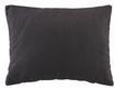 Zierkissen 55x40cm Schwarz - Schwarz, MODERN, Textil (55/40cm) - Premium Living