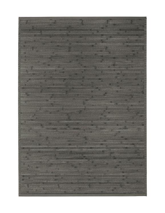 Flachwebeteppich Paris in Grau, ca. 120x170cm - Dunkelgrau, Textil (120/170cm) - MÖMAX modern living