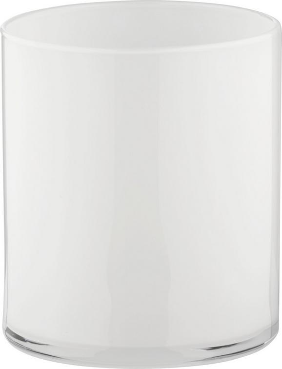 Váza Vivien Ii - fehér, modern, üveg (13/15cm) - Mömax modern living
