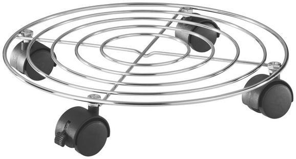 Podstavek Za Rože Na Kolescih Moriz - kovina/umetna masa (33/6cm) - Mömax modern living