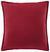 Zierkissen Rot - Rot, Textil (45/45cm)