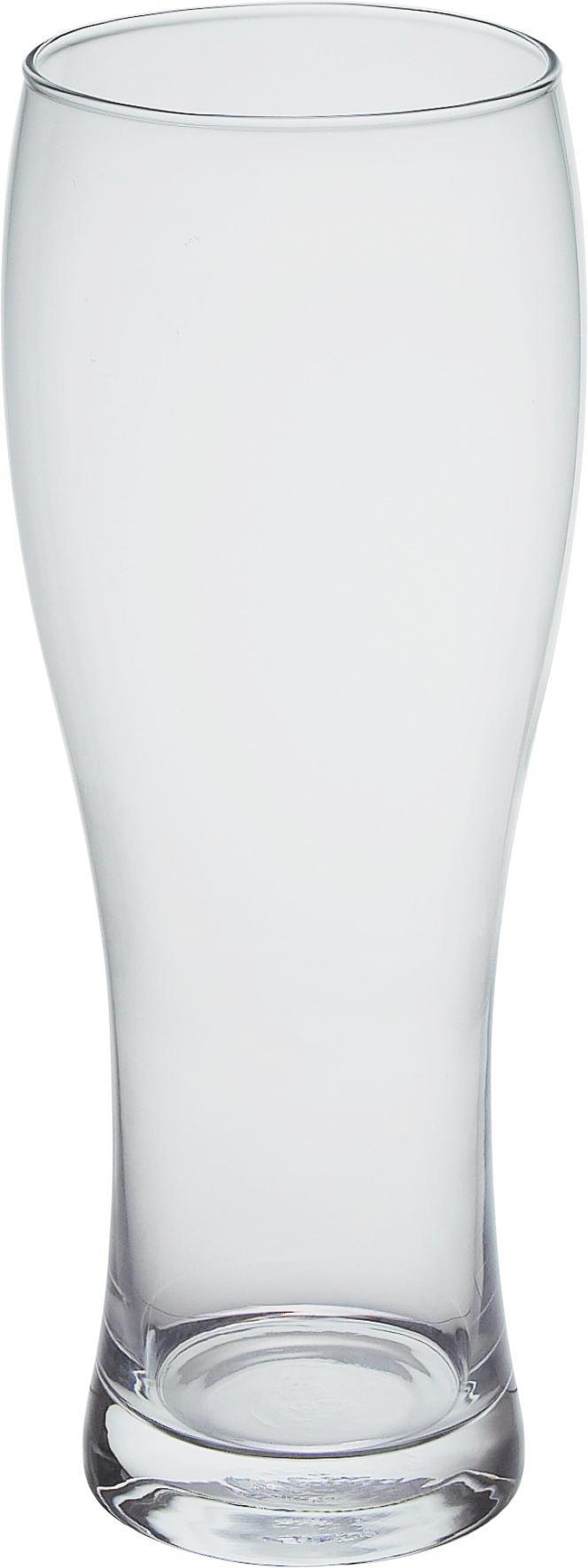 Búzasörös Pohár Hans - tiszta, üveg (8,1/21,3cm) - MÖMAX modern living