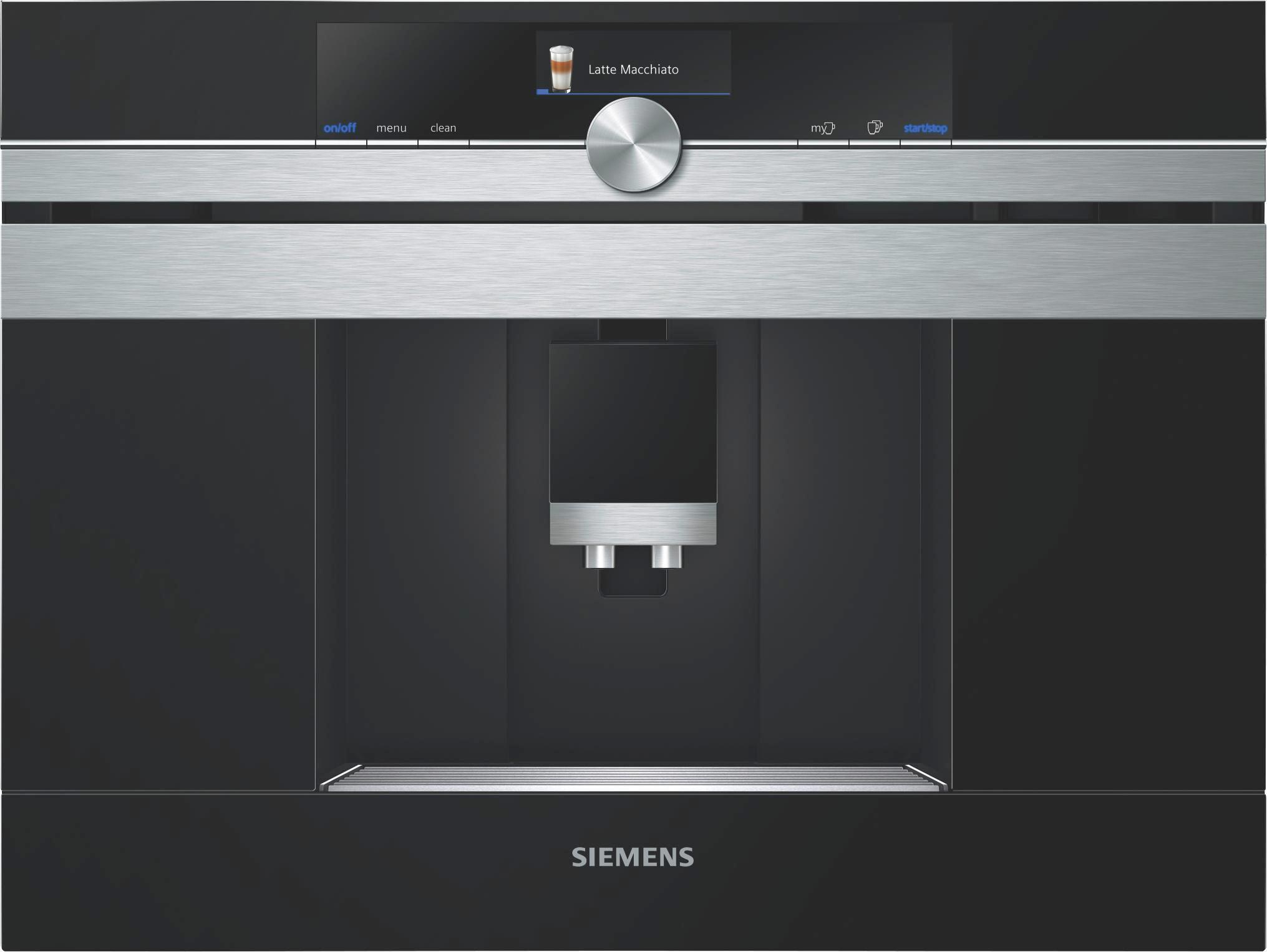 Kaffeevollautomat Siemens Ct636les1, 1600 Watt - Metall (59,4/45,5/38,5cm) - SIEMENS