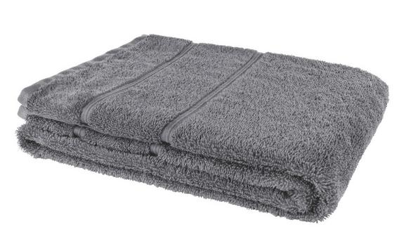 Fürdőlepedő Melanie - antracit, textil (70/140cm) - MÖMAX modern living