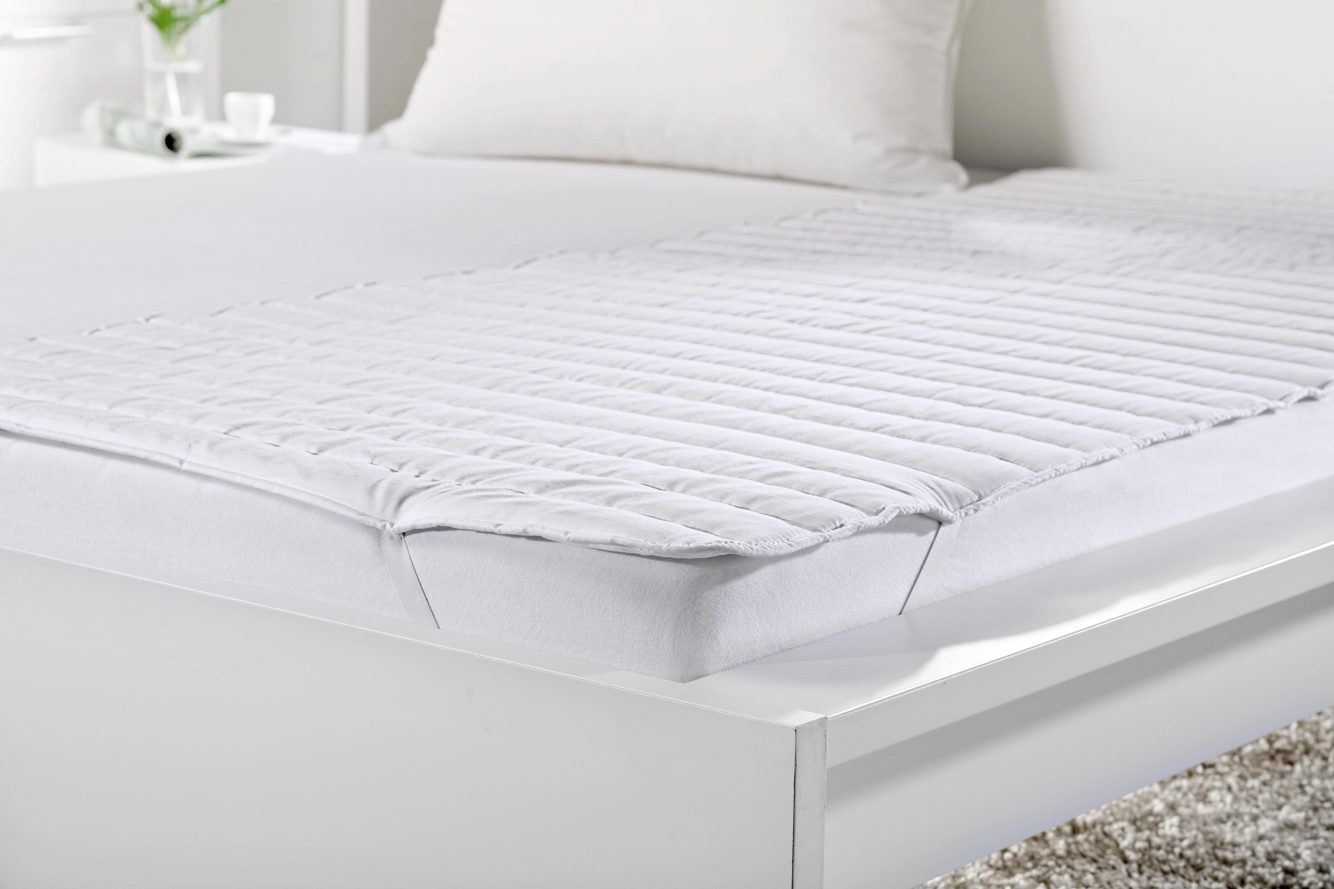 Matracvédő Klaus - fehér, textil (95/195cm) - MÖMAX modern living