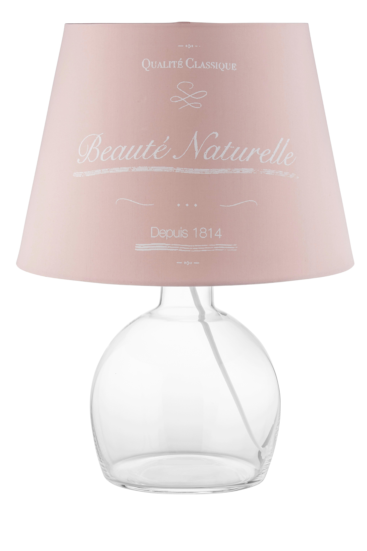 Lámpaernyő Naturelle - rózsaszín, romantikus/Landhaus, textil/fém (16,5-20/15,6cm) - MÖMAX modern living