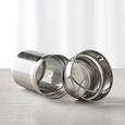 Trinkflasche Tea2go ca. 0,42l - MODERN, Glas/Holz (7,2/22cm) - Zandiara