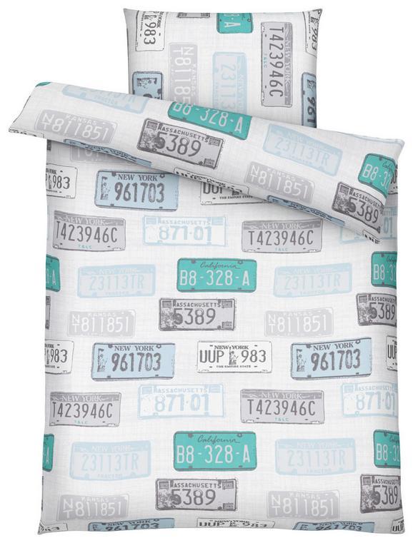Bettwäsche Signs, ca. 135x200cm - Multicolor, LIFESTYLE, Textil - MÖMAX modern living