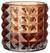 Teelichthalter Jolina - Orange, MODERN, Glas (9,8/9,8cm) - Mömax modern living