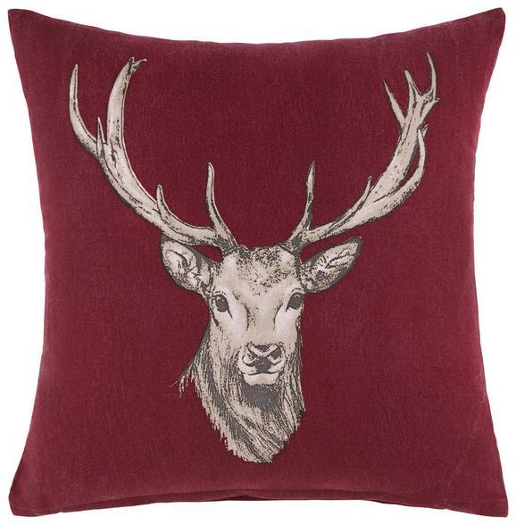 Zierkissen Witti ca. 45x45cm. - Rot, MODERN, Textil (45/45cm) - Mömax modern living