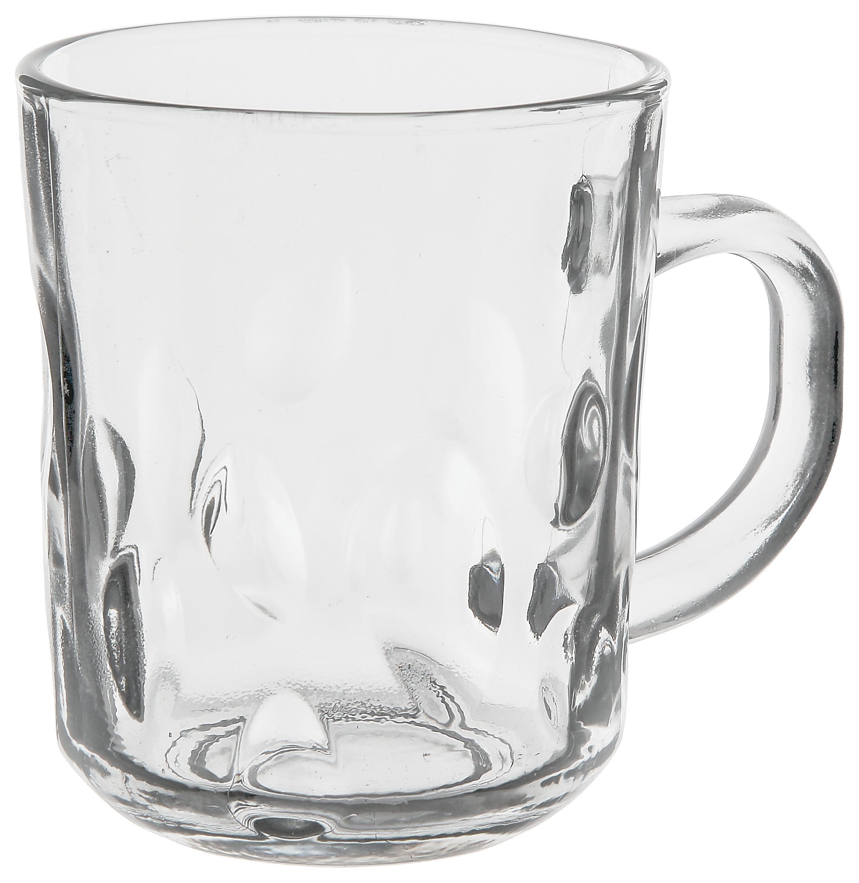 Skodelica Camelia - prozorna, steklo (0,24l)
