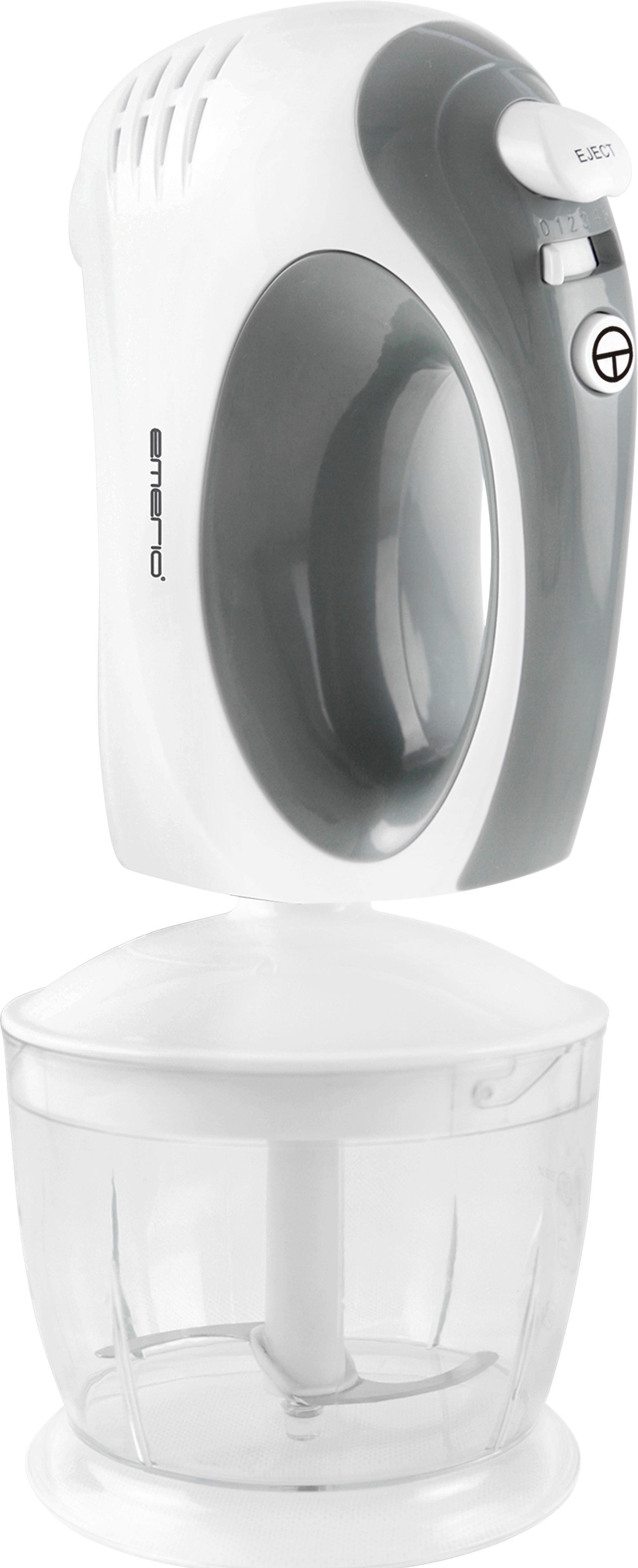 Handmixer Gerda - Weiß/Grau, Kunststoff/Metall (24/13.5/20cm) - MÖMAX modern living
