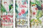 Holzbild Summer Verschiedene  Motive - Blau/Rosa, Holzwerkstoff (30/60cm) - Mömax modern living