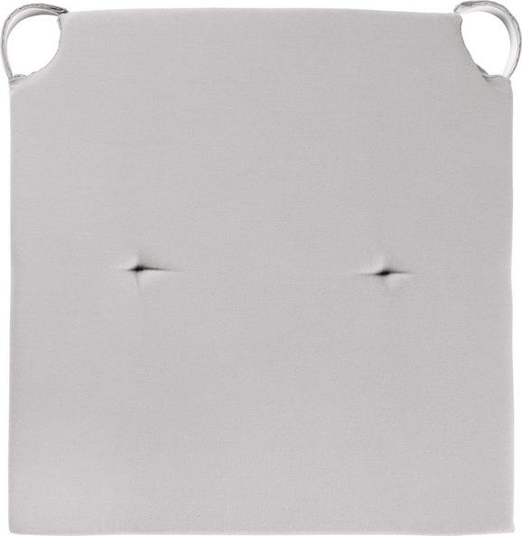 Sitzkissen Lilli 40x40cm - Taupe, KONVENTIONELL, Textil (40/40/3cm) - MÖMAX modern living