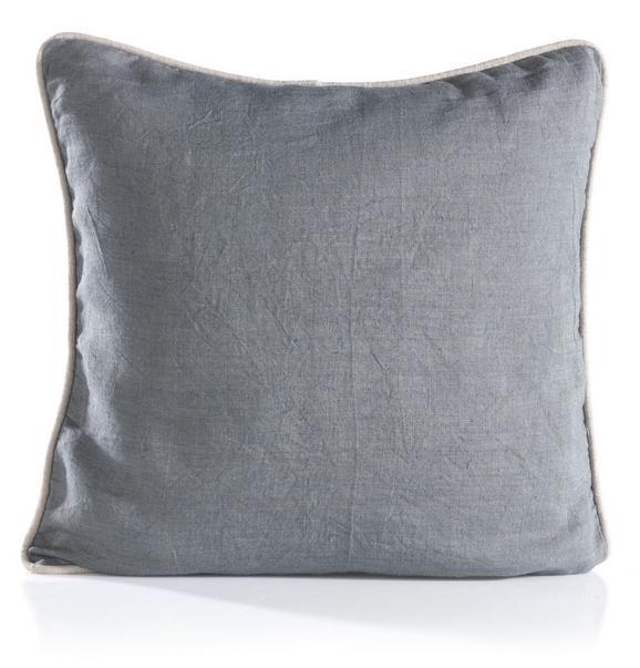 Kissen Stefan ca.40x40cm in Grau - Hellgrau/Grau, Textil (40/40cm) - Mömax modern living