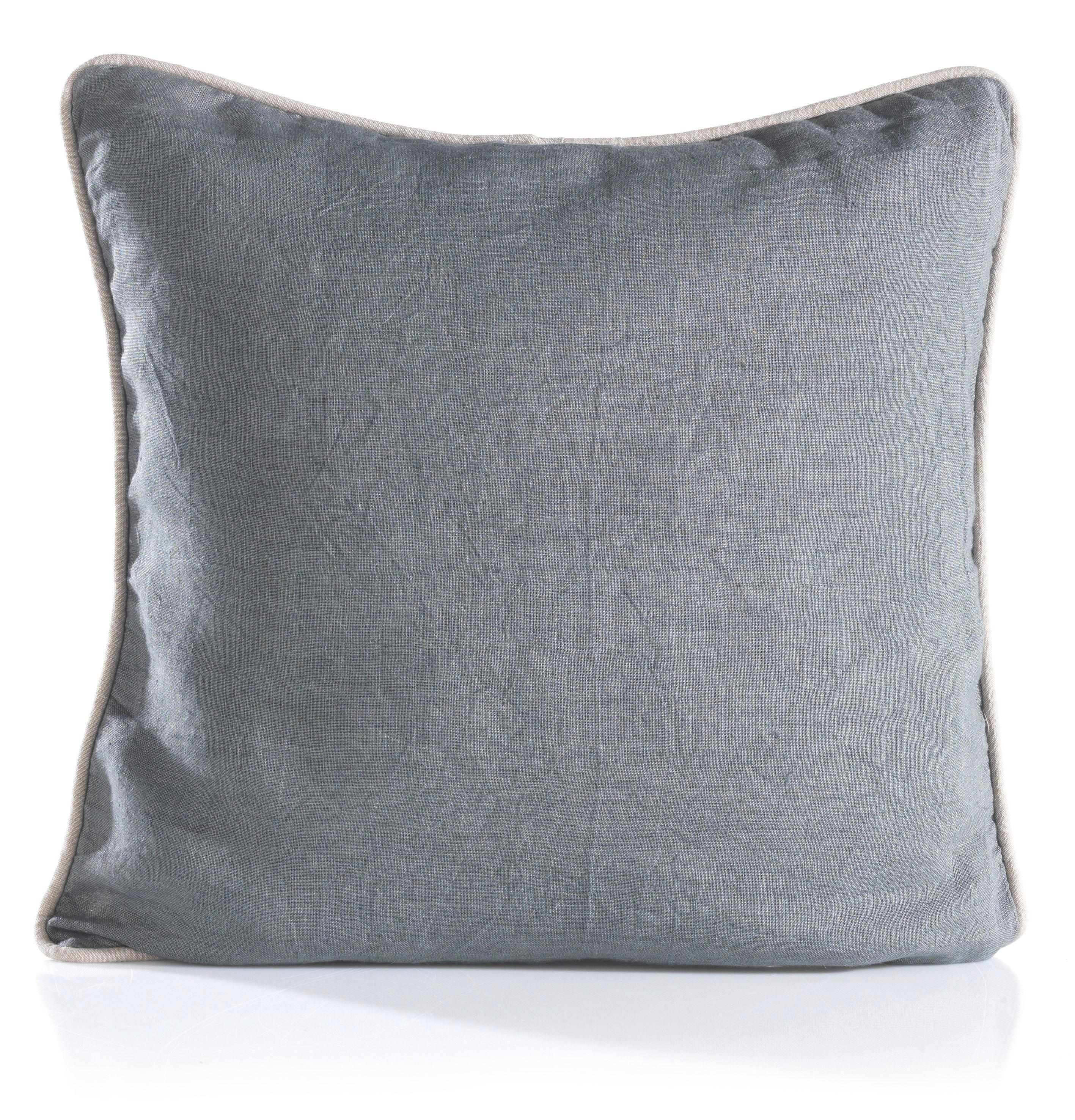 Zierkissen Stefan 40x40cm - Hellgrau/Grau, Textil (40/40cm) - MÖMAX modern living