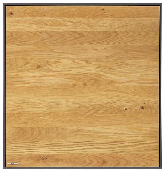 Viseči Element Arizona - hrast/antracit, Moderno, leseni material/les (60/63/32cm) - Premium Living