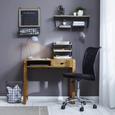 Schreibtisch in Naturfarben massiv - Naturfarben, LIFESTYLE, Holz (88/77/50cm) - Mömax modern living