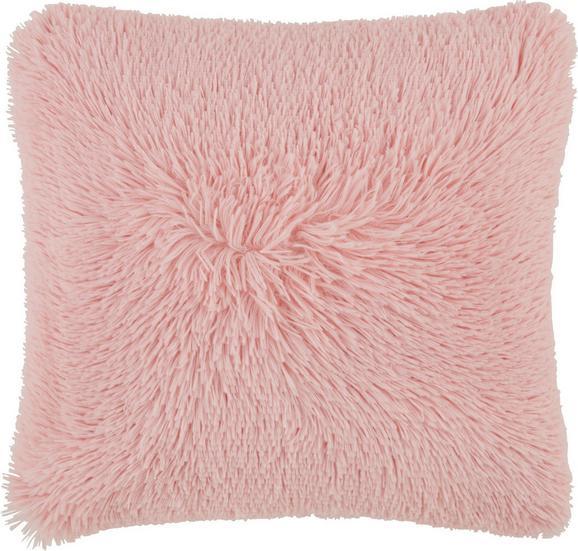Zierkissen Fluffy in Rosa, ca. 45x45cm - Rosa, Textil (45/45cm) - MÖMAX modern living
